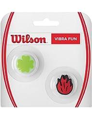 Wilson Vibra Fun - Amortiguador raquetas , multicolor, talla NS