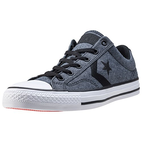 1J793 Converse Mandrini Charcoal Grey Chuck Taylor All Star HI Black White Black