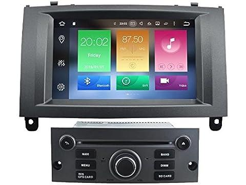 Huit Core 1024* 600écran HD Android 6.0DVD de voiture Navigation