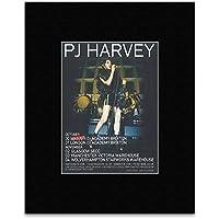 PJ Harvey - October/November 2016 UK Tour Mini Poster - 25.4x20.3cm preiswert