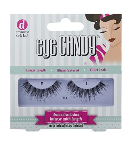 Eye Candy 014 Faux cils look naturel plein de volume, style 50's