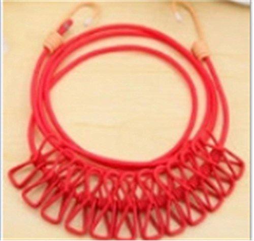 Portable Colorful Utility Kleider Seil Hanger 3 Paket , 2 ()