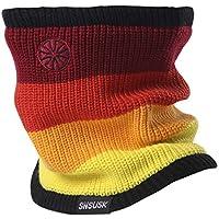 Botack 3 in 1 Neck Warmer Fleece Lined Beanie Hat Windproof Balaclava for Walking Running Skiing