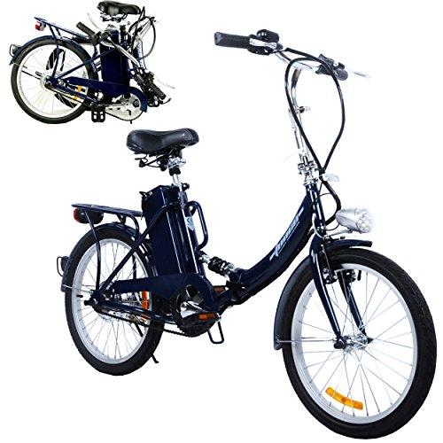 """TOOCO Elektro Klapprad 20"""" (51cm) Pedelec Elektrofahrrad Ebike E-Bike Fahrrad"""