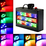 SOLMORE 15W 12LED Strobe Light Stage Disco Lights - Best Reviews Guide