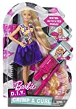 Enlarge toy image: Barbie DWK49 Crimp and Curl Doll
