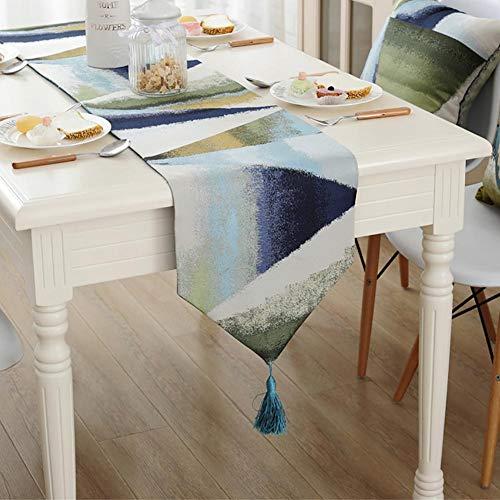 PLYY Dicke Tischläufer in Unterschiedlichen Größen zur Dekoration des Tisches, nordeuropäische...
