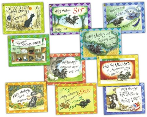 Preisvergleich Produktbild Hairy Maclary 10 Books Collection Set Pack RRP £59.90 (Hairy Maclary from Donaldson's Diary, Rumpus at the Vet, Hairy Maclary's Show business, Hairy Maclary's Caterwaul Caper, Scattercat, Zachery Quack, Sit, Bone, Hat Tricks, Shoo) (Hairy Maclary)