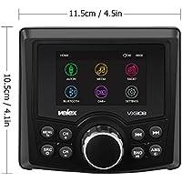 Marino reproductor de vídeo de Audio estéreo, DAB +/FM/AM con Bluetooth Streaming, para yate, barco, UTV, ATV, de deporte, Spa