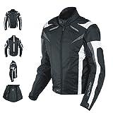 Best giacca moto - Giacca Lady Donna Tessuto Cordura Moto Protezione Manica Review
