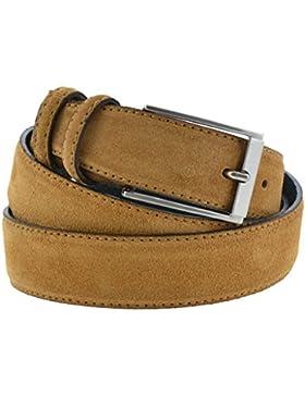 Cintura camoscio marrone chiaro