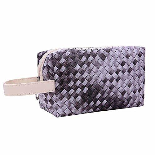 Mini Kosmetik-etui (Kaxima Mini Hand gewebt Kosmetik Tasche Lagerung Tasche Tasche 20x12x10cm)