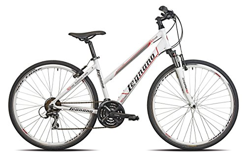 LEGNANO BICICLETA 381RED ROAD LADY 2821V TALLA 44BLANCO (MTB CON AMORTIGUACION)/BICYCLE 381RED ROAD LADY 2821S SIZE 44WHITE (MTB FRONT SUSPENSION)