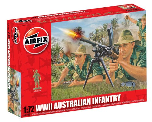 AIRFIX   WWII AUSTRALIAN INFANTRY  SET DE FIGURAS (HORNBY A01750)