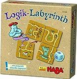 HABA 301886-Lógica de Laberinto, Juego de Mesa.