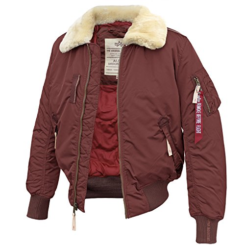 Alpha Industries Injector III burgundy - L