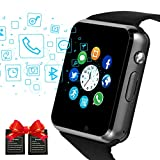 Bluetooth Smart Watches Touchscreen with SIM Card Slot, Smartwatch Compatible with Android phones