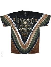 LYNYRD SKYNYRD T-Shirt - Simple Man - LYNYRD SKYNYRD Batik Shirt - Official LYNYRD SKYNYRD Merchandise !!!