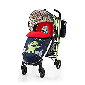 Cosatto Yo 2 Stroller, Suitable from Birth, Monster Arcade   12