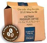 VietBeans Hello5 Mondo 250g – Premium Kaffeebohnen aus organischem Anbau – Vietnamesischer Kaffee aus zwei Sorten Arabica Bohnen – Bulletproof Coffee