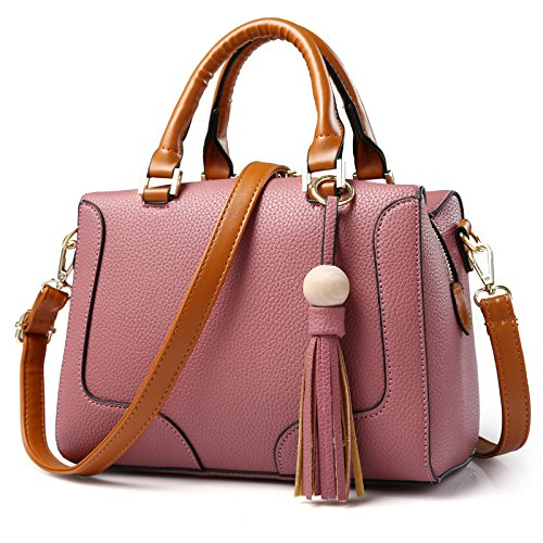 koson-man-womens-sweet-elegance-exquisite-leather-tassels-ornaments-casual-tote-bags-shoulder-bagspi