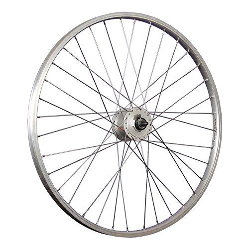 Taylor-Wheels 26 Zoll Vorderrad Büchel Alufelge Shimano Dynamo DH-C3000-3N (Sterne-fahrrad-felgen)