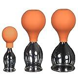3er Schröpfglas-Set mit Ball 20-30-40mm zum professionellen