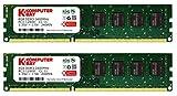 Komputerbay 16GB (2x 8GB) DDR3 PC3-12800 1600MHz DIMM 240-Pin RAM Desktop Memory 11-11-11-28 XMP ready