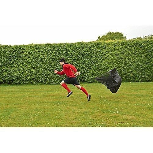 Mitre Fußball Box & Speed Running Luftwiderstand Chute mit Tasche (Chute Running)