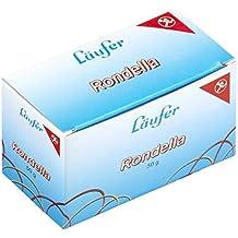 Läufer 51045 Rondella Gummibänder 100 X 5 mm, Durchmesser 65 mm, 5 mm breite Gummiringe, 50g Schachtel, rot