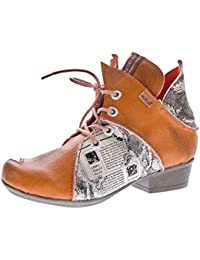 d2beb65fab TMA Damen Stiefeletten echt Leder Schuhe Comfort Leder Boots TMA 8818  Knöchelschuhe Gr. 36 -