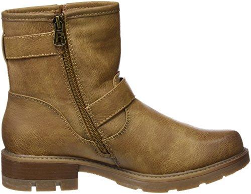 Refresh Damen 63891 Biker Boots, Elfenbein, EU Beige (Camel)