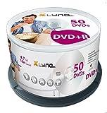 xlyne DVD+R Rohlinge (4,7 GB, 16x Speed, 50er Spindel, optical media)