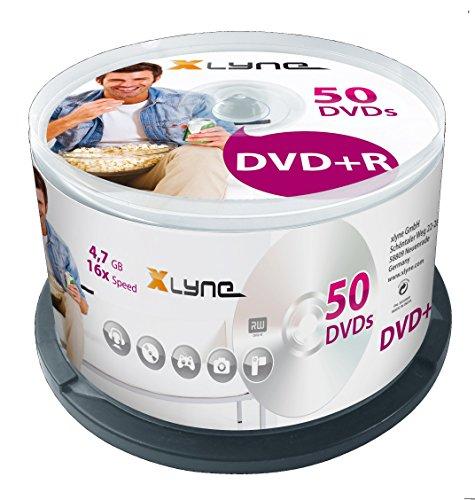 Xlyne dvd+r 4.7gb - confezione da 50