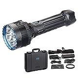 OLIGHT X9R Super Bright Leistungsstarker Torch Marauder, Wiederaufladbare Such- und Rettungslampe, 25000 Lumen, Die Upgrade-Version von X6 SR95S-UT SR96, Schwarz