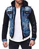 Cipo & Baxx Herren Jeans Jacke 154 Blau L