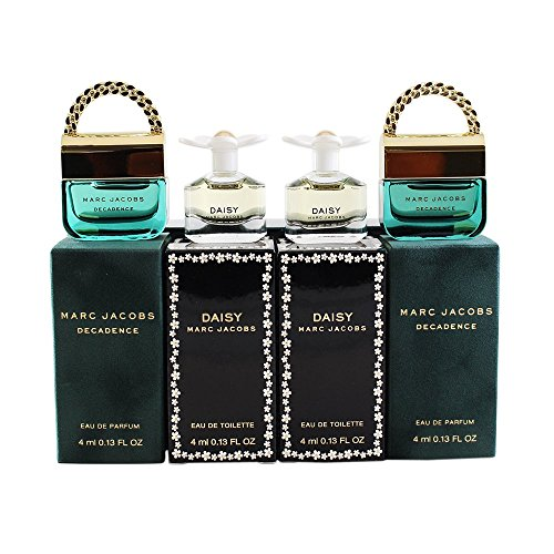 Marc Jacobs Decadence and Daisy Miniature Parfum Gift Set for Her