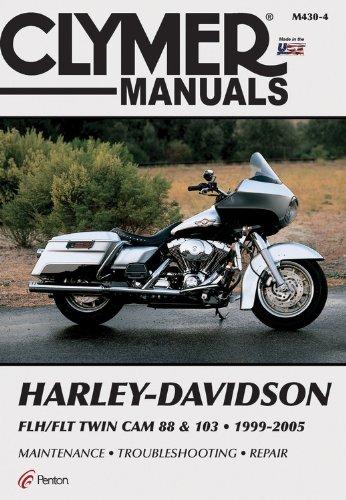 Harley-Davidson Flh/Flt Twin CAM 88 & 103 1999-2005 (Clymer Manuals) por Penton