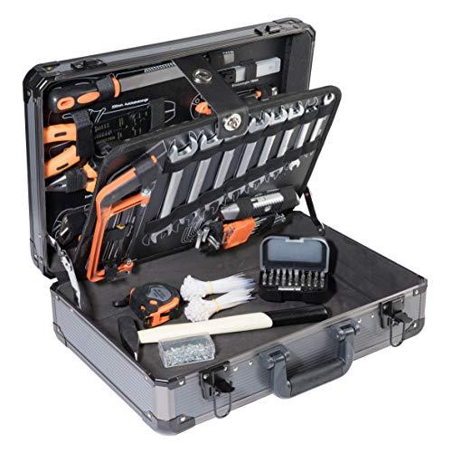 Ribelli 500-teilig Werkzeugkoffer, Werkzeugset ideal für den Haushalt oder die Garage, Universal Werkzeugkiste, Werkzeugkasten für den Haushaltbereich