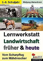 Lernwerkstatt Landwirtschaft früher und heute: Vom Scharpflug zum Mähdrescher