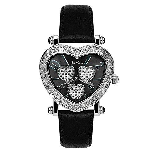 Joe Rodeo con orologio da donna - MOVING HEART argento 0,75 ctw