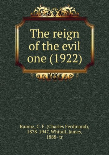 The reign of the evil one (1922)