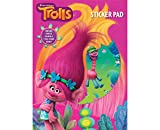 Trolls Bumper Sticker Pad. Have fun creating scenes with stickers of all your favourite Trolls characters. 1 x Bumper A4 sticker pad - With 25 stickers and 7 full colour scenes to place them on. Great gift for any Trolls fan, ideal for partie...