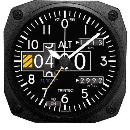 Trintec 2060Serie NV Aviation Höhenmesser Höhe Reisewecker 3,5Sq Ax Serien-radios
