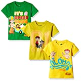 #2: Chhota Bheem Boys' T-Shirt (Pack of 3)