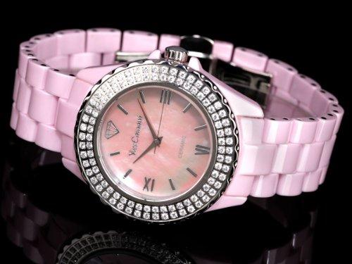 Yves Camani Damen-Armbanduhr Yves Camani Damenuhr Nancy Pink Analog Quarz YC1011-A - 2