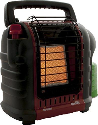 Mr. Heater Portable Buddy Gasheizung inkl. Adapter für Gaskartuschen mit 7/16-Gewinde; - 4
