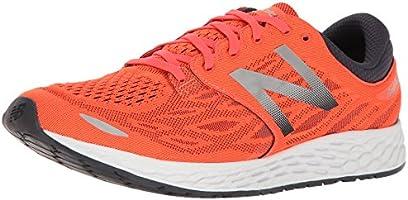 new balance Men's Zante V3 Orange Grey Running Shoes - 9.5 UK/India (44 EU) (10 US)
