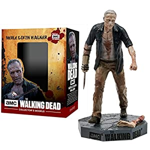 Figura de plomo y resina The Walking Dead Collector's Models Nº 21 Merle Walker 10