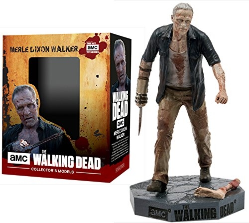 Figura de plomo y resina The Walking Dead Collector's Models Nº 21 Merle Walker 1